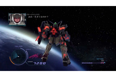 Gundam Unicorn (PS3): All (Free) Vs. DLC stages (Hard Mode ...