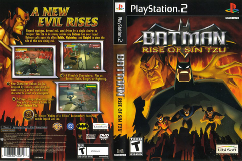 Games Covers: Batman - Rise Of Sin Tzu - PS2