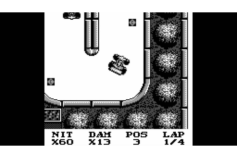 RACE DAYS GAMEPLAY for the Game Boy - YouTube