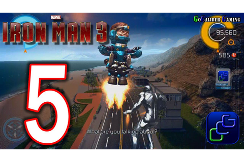 IRON MAN 3: The Official Game Android Walkthrough - Part 5 ...