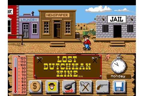 Lost Dutchman Mine : The Company - Classic Amiga Games