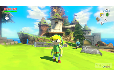 Zelda: Wind Waker HD screens show combat, Tingle ...