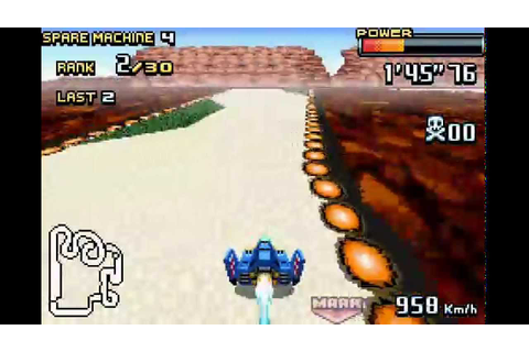 F-Zero: GP Legend GBA gold cup expert 60fps - YouTube