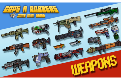 Amazon.com: Cops N Robbers (FPS) - Mine Mini Game With ...