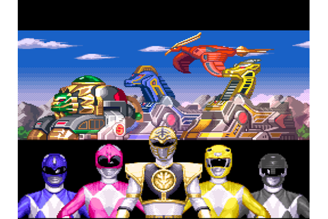 Mighty Morphin Power Rangers Fighting Edition Screenshots ...