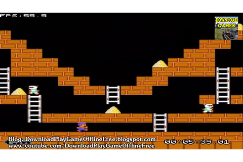Download & Play game Lode Runner nitendo nes on pc - YouTube