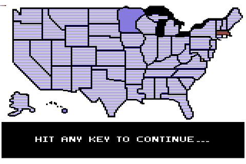 President Elect (1984) by SSI C64 game