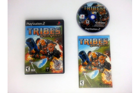 TRIBES Aerial Assault game for Playstation 2 (Complete ...