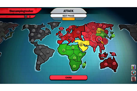 Risk: Factions Gameplay | Risk Factions Video Game