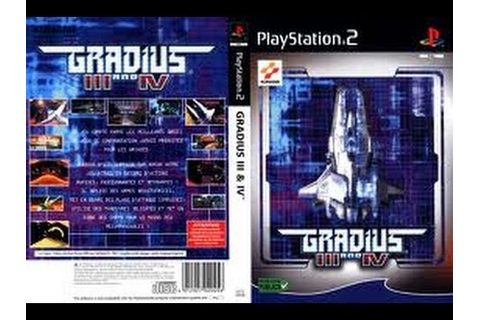 PS2 Gradius III and IV (HD) (PCSX2) (50 fps) - YouTube