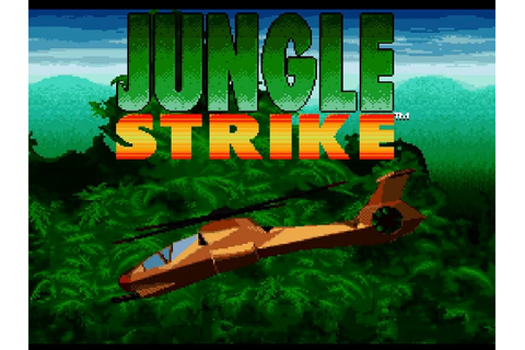 SNES Jungle Strike - YouTube