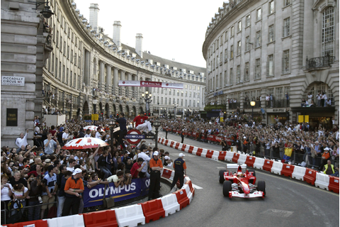 F1 demo to take place on London streets - Speedcafe