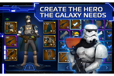Star Wars: Uprising APK Download - Free Role Playing game ...