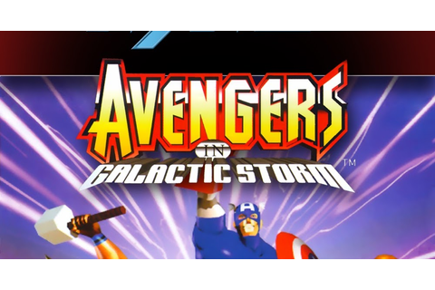 The Collection Chamber: THE AVENGERS IN GALACTIC STORM