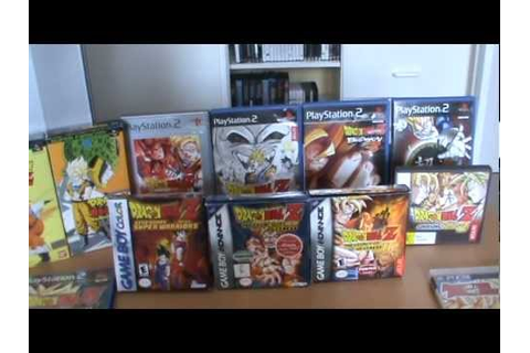 My Dragon Ball Z Game Collection - YouTube