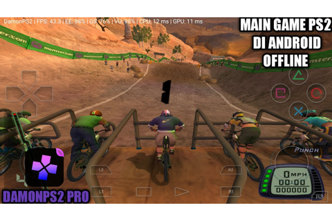 Cara Bermain Game Downhill Domination PS2 Di Android ...