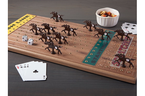 Horse Racing Board Game by Across The Board: Family Fun ...