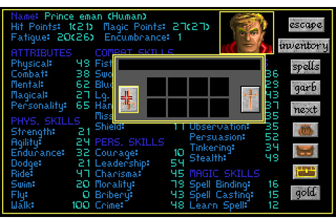 Challenge of the Five Realms rpg for DOS (1992 ...
