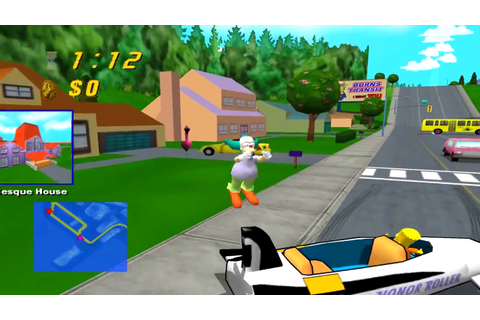 The Simpsons: Road Rage Download Game | GameFabrique