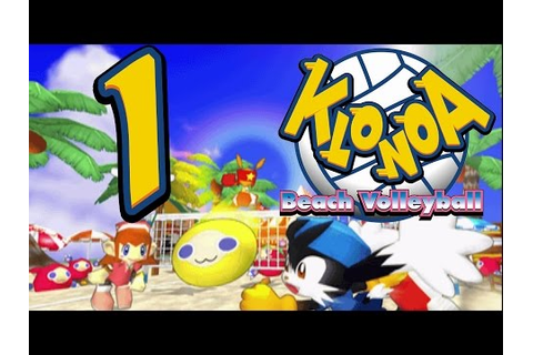 Let's Play Klonoa Beach Volleyball, ep 1: Just what we ...