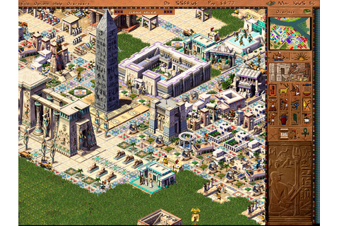 Jeu video Pharaon sur PC - 1 - images, jaquette, scans ...