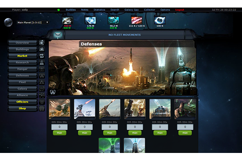 OGame.Fun - Online Browser Space Strategy Game - OGame