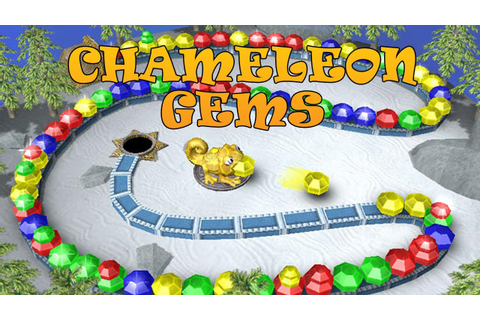 Chameleon Gems - Free 2 Play Puzzle Game - YouTube