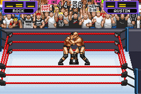 Wwf (wwe) Road To Wrestlemania Game Boy Advance Ds Lite ...