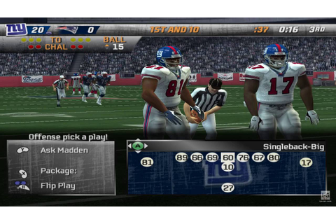 Madden NFL 08 GameCube Gameplay HD - YouTube