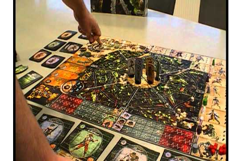 Board Game Review: Carnival Zombie - YouTube