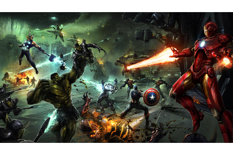 The cancelled Avengers Videogame: screens, videos & more