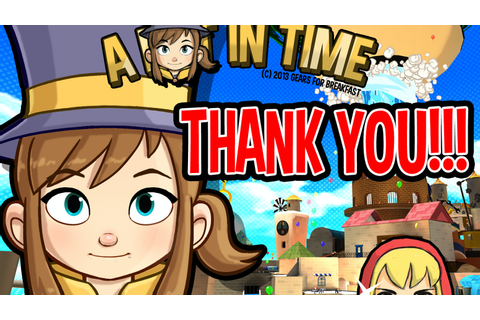 A Hat in Time - 3D collect-a-thon platformer by Gears for ...