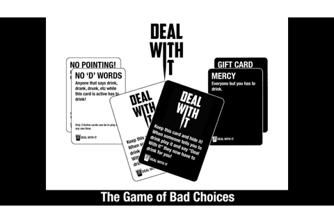 Deal With It - The New Drinking Game For Every Party - YouTube