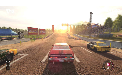 Wreckfest [Next Car Game Bemutató] - YouTube