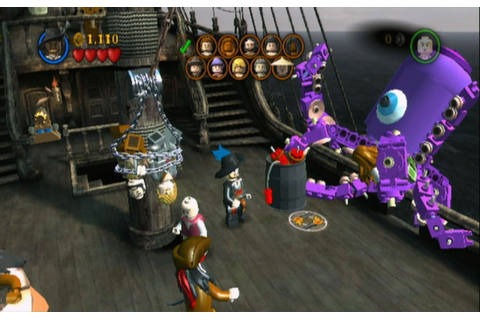 LEGO Pirates of the Caribbean Review for Nintendo Wii (Wii ...