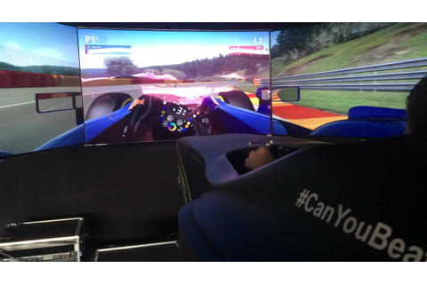 F1 Gamezone Spa-Francorchamps - A lap in the motion ...