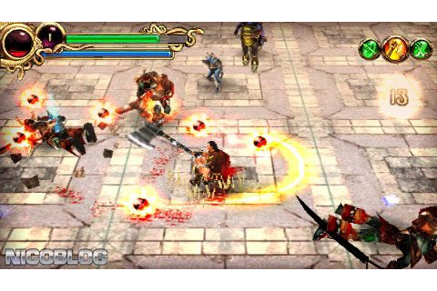 Hero of Sparta (USA) PSP ISO - CDRomance
