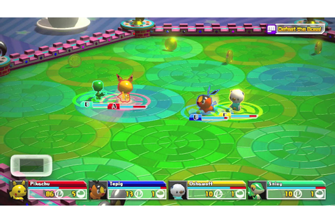 Pokemon Rumble U gameplay - YouTube