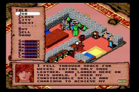 The RPG Consoler: Game 26: Rings of Power (Genesis ...