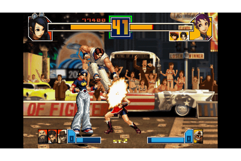 THE KING OF FIGHTERS 2001 on PS3 | Official PlayStation ...