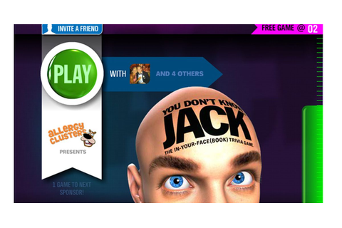 'You Don't Know Jack' Returns as Facebook Game