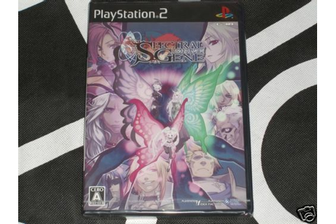 Sony Playstation 2 PS2 Import New Game Spectral Gene ...
