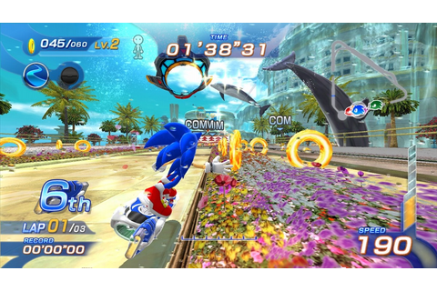 Review: Sonic Free Riders » SEGAbits - #1 Source for SEGA News