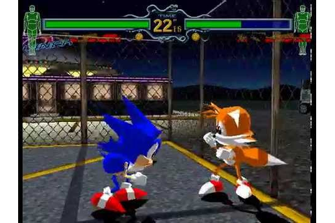 Fighting Vipers 1 [Arcade] - play as Sonic & Tails (unused ...