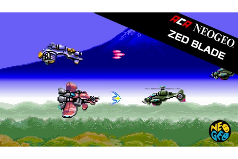Zed Blade is next week's NeoGeo game on Switch - Nintendo ...