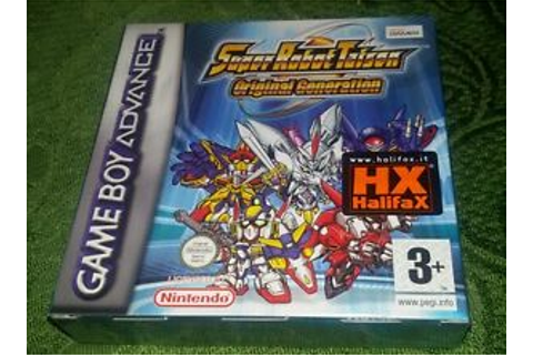 SUPER ROBOT TAISEN WARS ORIGINAL GENERATION - Advance GBA ...