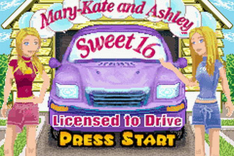 Play Mary-Kate and Ashley Sweet 16 - Licensed to Drive ...