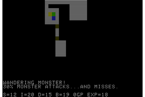 The CRPG Addict: Game 79: Beneath Apple Manor (1978)