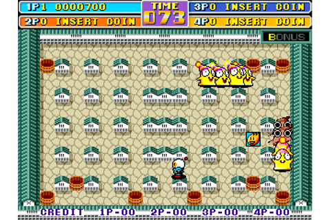 Play Bomber Man World Coin Op Arcade online | Play retro ...