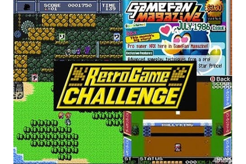 DS Classics 01 - Retro Game Challenge [Game Center CX ...